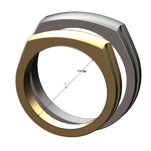 dome-signet-ring-06.JPG Télécharger fichier 3MF Modèle d'impression 3D de la bague de signature du dôme • Modèle imprimable en 3D, RachidSW