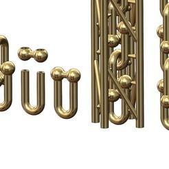 HARDWEAR-CHAIN-LINK-00.JPG Télécharger fichier 3MF Maillons de chaîne pour les pendentifs de bracelets et les colliers Modèle d'impression 3D • Modèle pour imprimante 3D, RachidSW