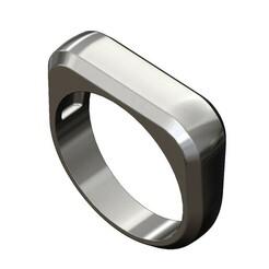 Dome-fillet-signet-ring-00.JPG Télécharger fichier 3MF Dôme de filet Modèle d'impression 3D de l'anneau du haut • Modèle pour impression 3D, RachidSW
