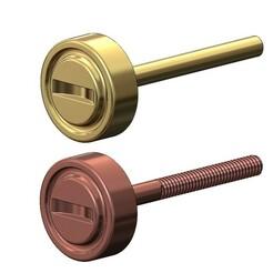 Love-screw-earrings-00.JPG Download 3MF file Screw motif stud earring 3D print model • 3D printable design, RachidSW