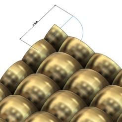 Télécharger fichier 3D Modèle d'impression 3D d'un panneau à motifs de bulles, RachidSW