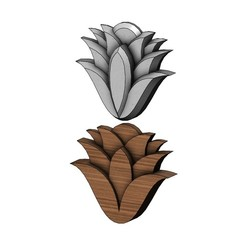 mhendi-flower-00.JPG Télécharger fichier 3MF Modèle d'impression 3D de simples ornements floraux de Mehndi • Design à imprimer en 3D, RachidSW