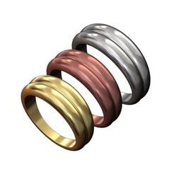 DOUBLE-DOME-RING-00.JPG Télécharger fichier 3MF Modèle d'impression 3D de l'anneau à double dôme • Design imprimable en 3D, RachidSW