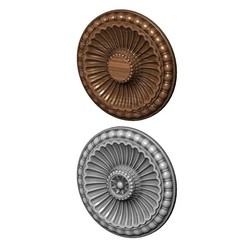 Rosette11-00.JPG Download STL file Classical Ceiling Medallion and rosette 3D print model • 3D printing object, RachidSW