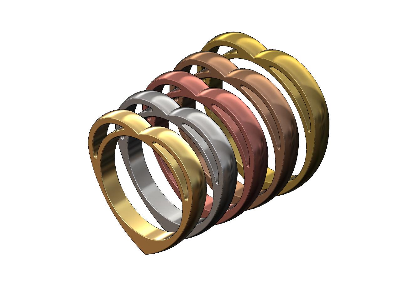 heart-ring-00.JPG Télécharger fichier 3MF Modèle d'impression 3D d'un anneau en forme de cœur • Design pour impression 3D, RachidSW