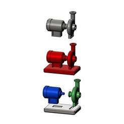 pump-motor-00.JPG Télécharger fichier STL Modèle miniature de moteur et de pompe • Modèle imprimable en 3D, RachidSW