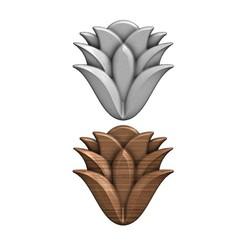 mhendi-flower-00.JPG Télécharger fichier 3MF Modèle d'impression 3D de l'ornement floral de Mehndi • Plan pour imprimante 3D, RachidSW