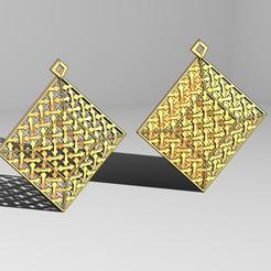 square-moucha-base-01.JPG Télécharger fichier 3MF Pendentif moucharabieh de style beldi marocain • Plan pour imprimante 3D, RachidSW