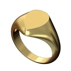 Teardrop-signet-00.JPG Download 3MF file Teardrop shaped signet ring 3D print model • 3D printer model, RachidSW