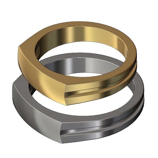 dome-signet-ring-01.JPG Télécharger fichier 3MF Modèle d'impression 3D de la bague de signature du dôme • Modèle imprimable en 3D, RachidSW