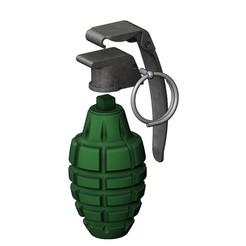 grenade-22.JPG Télécharger fichier STL Grenade à fragmentation modèle d'impression 3d • Objet à imprimer en 3D, RachidSW