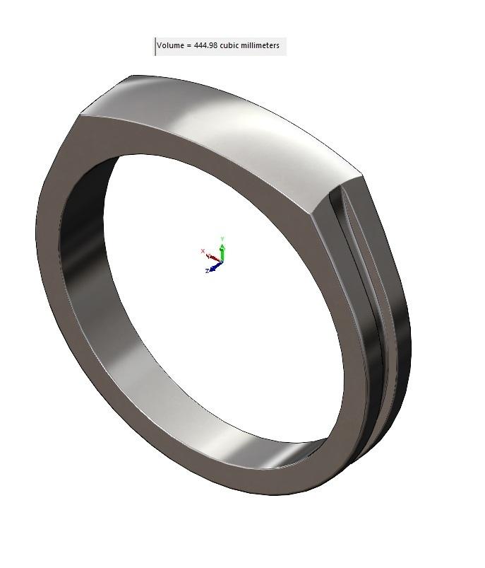 volume2.jpg Télécharger fichier 3MF Modèle d'impression 3D de la bague de signature du dôme • Modèle imprimable en 3D, RachidSW
