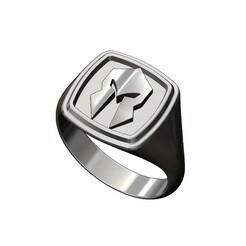 Spartan-square-signet-00.JPG Download 3MF file Spartan helmet Stepped Square signet ring 3D print model • 3D printer model, RachidSW