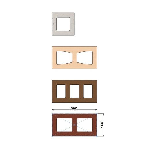 cinder-blocks-04.JPG Télécharger fichier 3MF gratuit Maquette de blocs de cendres miniatures accessoires modèle d'impression 3D • Plan à imprimer en 3D, RachidSW