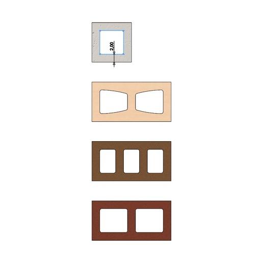 cinder-blocks-08.JPG Télécharger fichier 3MF gratuit Maquette de blocs de cendres miniatures accessoires modèle d'impression 3D • Plan à imprimer en 3D, RachidSW
