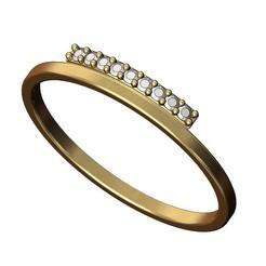 Side-band-ring-00.JPG Télécharger fichier 3MF Modèle d'impression 3D d'une bague à diamant latéral • Plan à imprimer en 3D, RachidSW