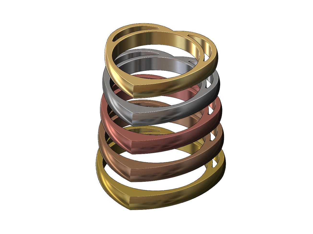 heart-ring-02.JPG Télécharger fichier 3MF Modèle d'impression 3D d'un anneau en forme de cœur • Design pour impression 3D, RachidSW
