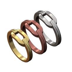 Link-ring-00.JPG Download 3MF file Chain link statement ring 3D print model • 3D printable model, RachidSW