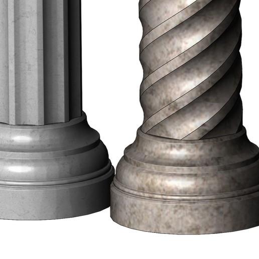 columns-mini-07.JPG Download 3MF file Miniature model making columns 3D print model • 3D printable design, RachidSW
