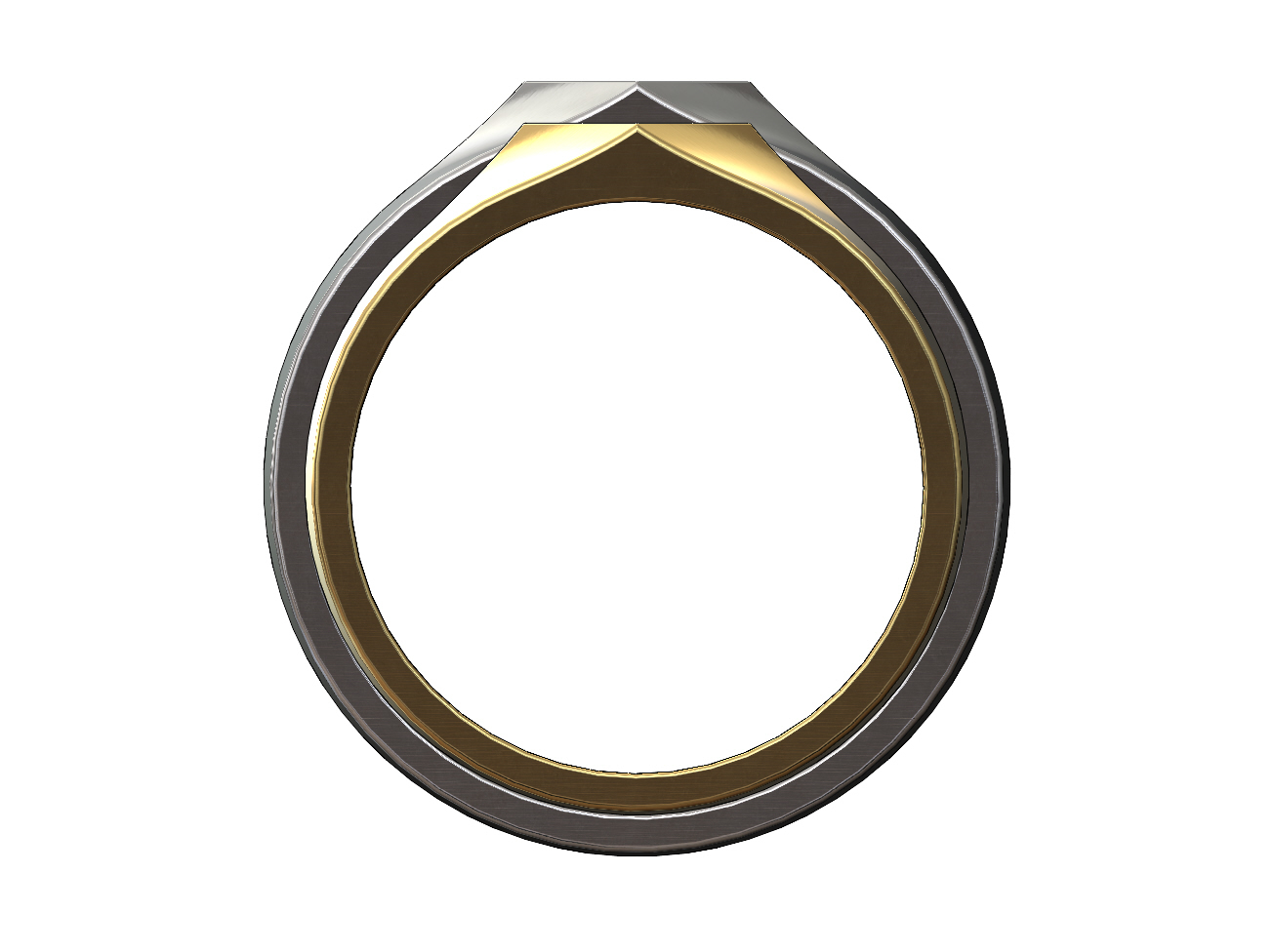 SQUARE-SIGNET-02.JPG Download 3MF file Simple quadrangle flat top signet ring 3D print model • 3D printable model, RachidSW
