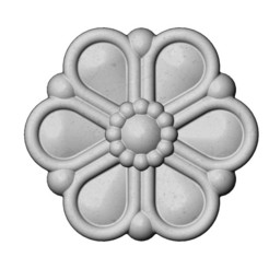 DAISLY-PENDANT-00.JPG Download 3MF file Daisy flower rosette 3D print model • 3D print model, RachidSW