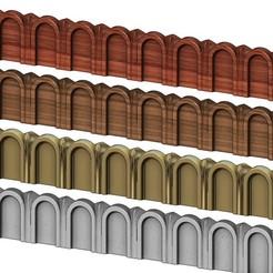 ROMAN-MOLDING-0000.JPG Télécharger fichier 3MF Moulage linéaire romain cannelé en relief et modèle d'impression 3D • Design à imprimer en 3D, RachidSW