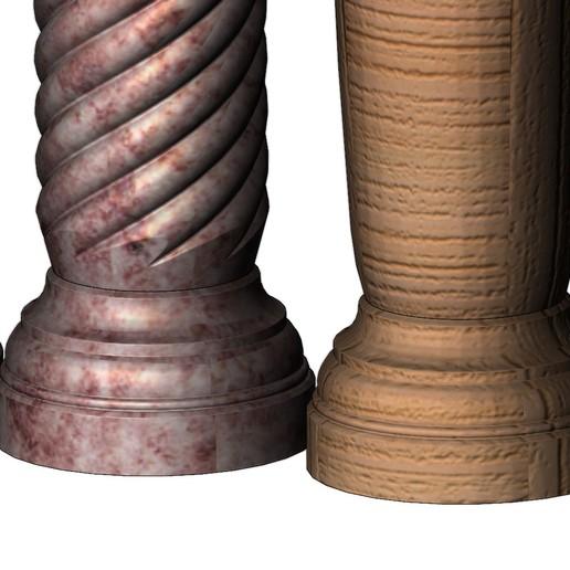 columns-mini-09.JPG Download 3MF file Miniature model making columns 3D print model • 3D printable design, RachidSW