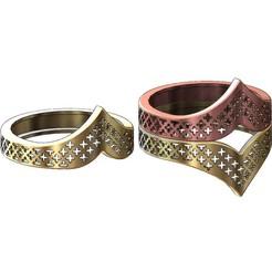Download 3D printer templates 6 Moroccan beldi moucharabieh rings, RachidSW