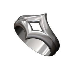 Double-V-crown-band-00.JPG Télécharger fichier 3MF Modèle d'impression 3D de la bande en chevron de la couronne en double V • Modèle imprimable en 3D, RachidSW