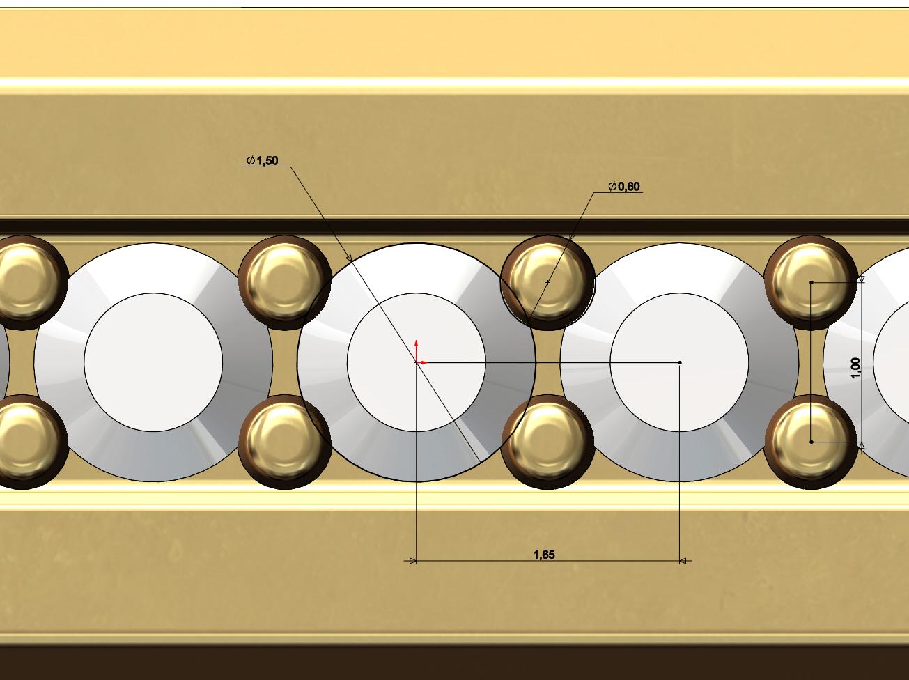 Hexa-signet-pavé-07.JPG Download 3MF file Hexagonal slot low profile signet ring 3D print model • 3D printable model, RachidSW