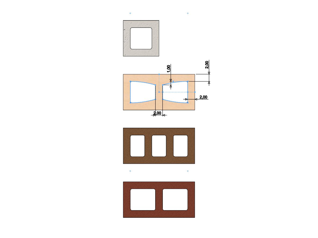 cinder-blocks-07.JPG Télécharger fichier 3MF gratuit Maquette de blocs de cendres miniatures accessoires modèle d'impression 3D • Plan à imprimer en 3D, RachidSW