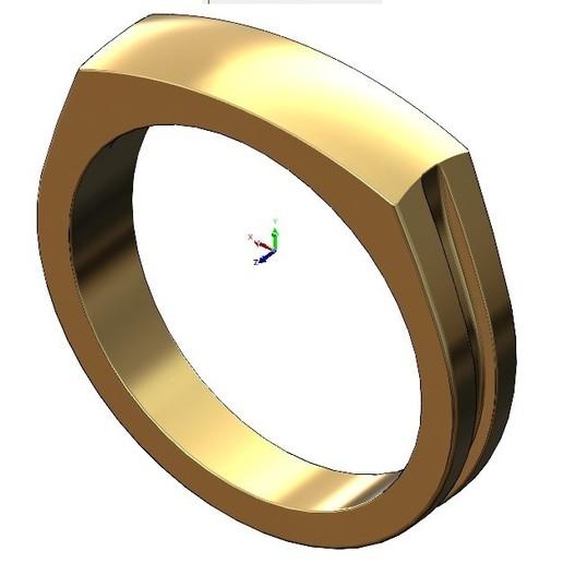 volume1.jpg Télécharger fichier 3MF Modèle d'impression 3D de la bague de signature du dôme • Modèle imprimable en 3D, RachidSW