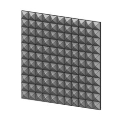 3D-P1-00.JPG Download 3MF file Geometrical Square Diamond pattern panel 3D print model • 3D print model, RachidSW