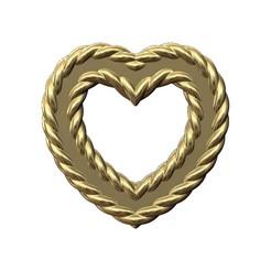BRAIDED-HEART-00.JPG Télécharger fichier 3MF Pendentif et breloque en fil de fer en forme de coeur et ornements Modèle imprimé en 3D • Modèle pour impression 3D, RachidSW