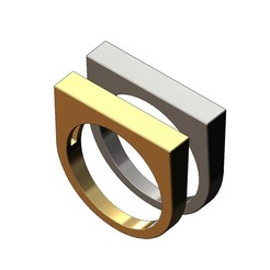 Flat-top-recta-signet-ring-00.JPG Télécharger fichier 3MF Modèle d'impression 3D d'une chevalière rectangulaire à sommet plat • Design à imprimer en 3D, RachidSW