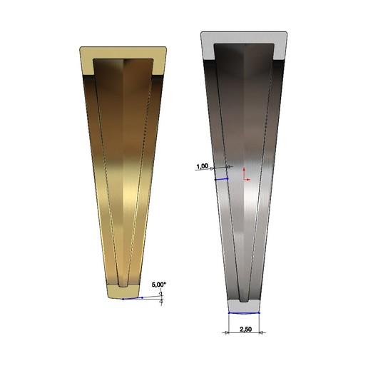 SQUARE-SIGNET-10.JPG Download 3MF file Simple quadrangle flat top signet ring 3D print model • 3D printable model, RachidSW