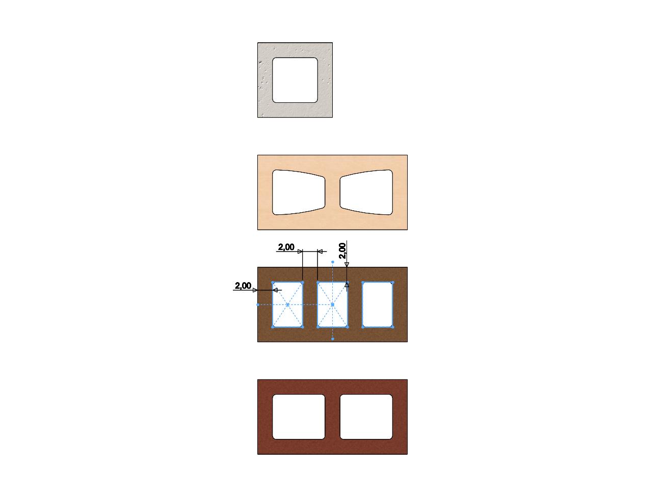 cinder-blocks-06.JPG Télécharger fichier 3MF gratuit Maquette de blocs de cendres miniatures accessoires modèle d'impression 3D • Plan à imprimer en 3D, RachidSW