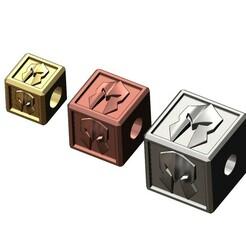 SPARTA-HELMET-CUBE-CHARMS-00.JPG Télécharger fichier 3MF Modèle d'impression 3D d'un cube de casque spartiate et d'un pendentif • Modèle pour impression 3D, RachidSW