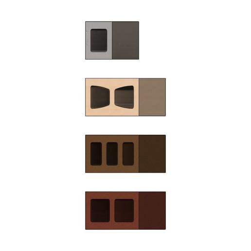 cinder-blocks-02.JPG Télécharger fichier 3MF gratuit Maquette de blocs de cendres miniatures accessoires modèle d'impression 3D • Plan à imprimer en 3D, RachidSW
