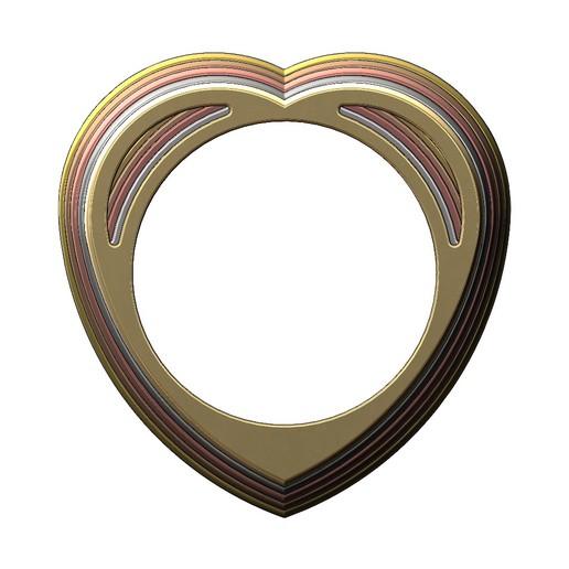 heart-ring-01.JPG Télécharger fichier 3MF Modèle d'impression 3D d'un anneau en forme de cœur • Design pour impression 3D, RachidSW