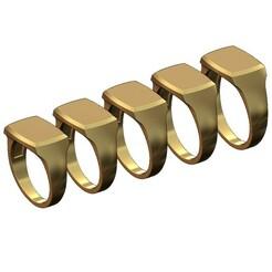 Recta-top-signet-ring-00.JPG Télécharger fichier 3MF Modèle d'impression 3D gravé de la géométrie rectangulaire du sommet • Objet pour impression 3D, RachidSW