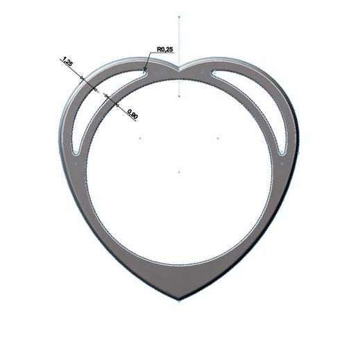 heart-ring-05.JPG Télécharger fichier 3MF Modèle d'impression 3D d'un anneau en forme de cœur • Design pour impression 3D, RachidSW