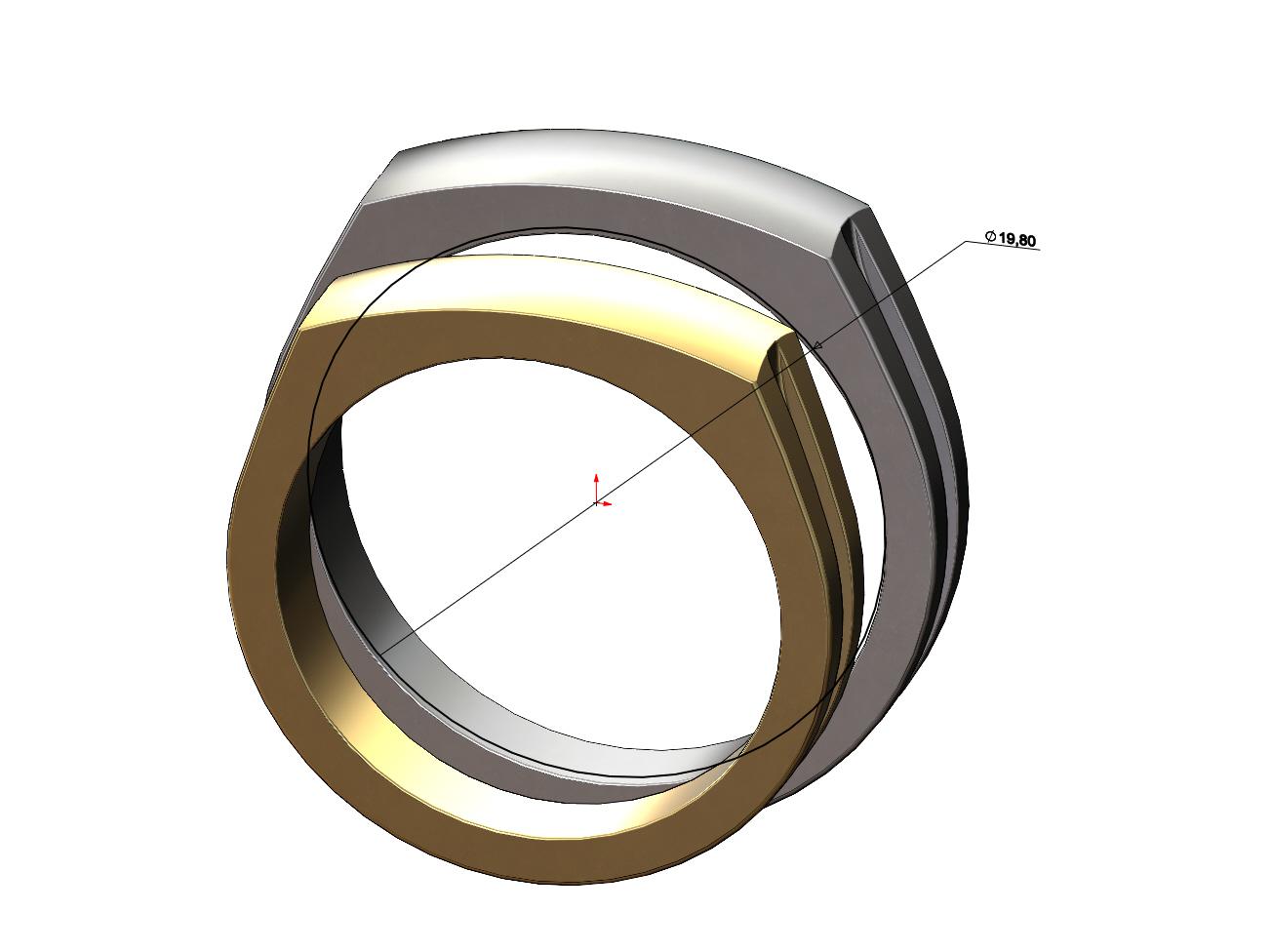 dome-signet-ring-07.JPG Télécharger fichier 3MF Modèle d'impression 3D de la bague de signature du dôme • Modèle imprimable en 3D, RachidSW