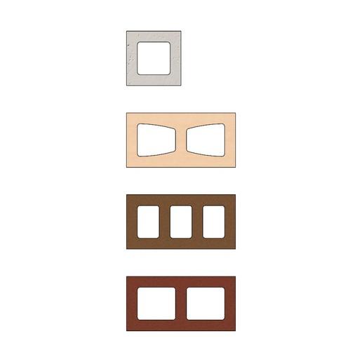 cinder-blocks-01.JPG Télécharger fichier 3MF gratuit Maquette de blocs de cendres miniatures accessoires modèle d'impression 3D • Plan à imprimer en 3D, RachidSW