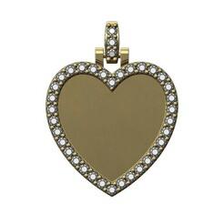 Diamond-Picture-Pendant-Heart-25mm-00.JPG Télécharger fichier 3MF Pendentif en diamant en forme de coeur modèle d'impression 3D • Plan pour impression 3D, RachidSW
