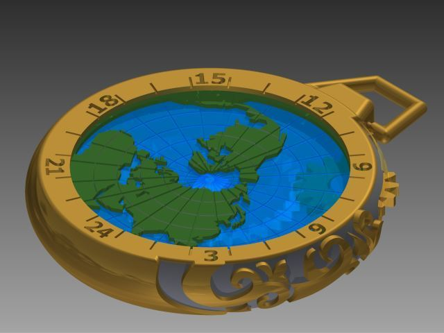 Image.jpg Download free STL file Gusset Watch Greenwich meridian • Object to 3D print, yanndsa