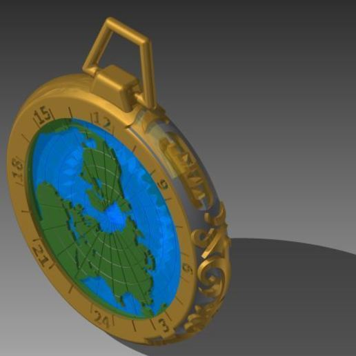 Image2.jpg Download free STL file Gusset Watch Greenwich meridian • Object to 3D print, yanndsa