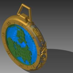 Download free STL files Gusset Watch Greenwich meridian, yanndsa