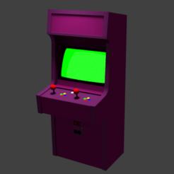 untitled1.png Download OBJ file Standard Arcade Machine • 3D print template, qfrsteve15