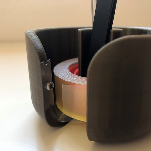 fiso2.jpg Télécharger fichier STL Support de sol / ruban adhésif (articles de bureau et de bureau) • Modèle pour imprimante 3D, mibro